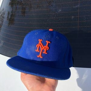New York Mets hat size 7